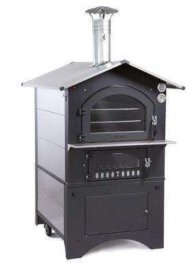 Mobiler Holzbackofen / Pizzaofen Fontana Gusto 57x45