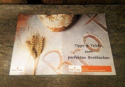 """Gärkorb Gärkörbchen Holzschliff eckig 0,75 kg Brote, Bodenmuster Ähre, Info """"perfekt Brotbacken"""" – Bild 2"""