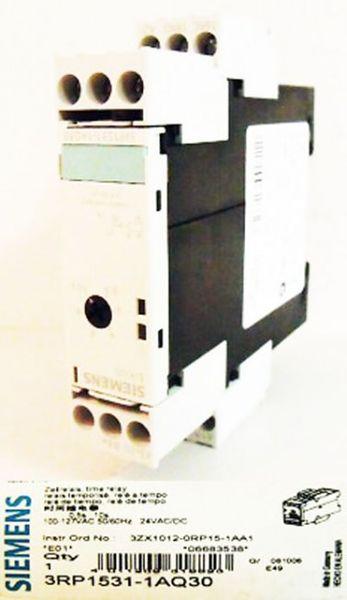 Siemens 3RP1531-1AQ30 elektronisches Zeitrelais E-Stand:01-unused/OVP-