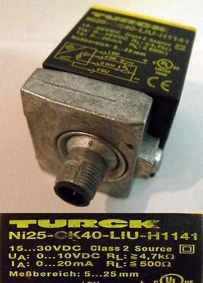 Turck induktiver Sensor Ni25-CK40-LIU-H1141 -gebraucht-