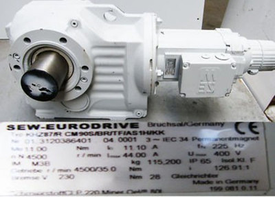 SEW-Eurodrive KHZ 87/R CM90S/BR/TF/AS1HKK Getriebemotor -unused-