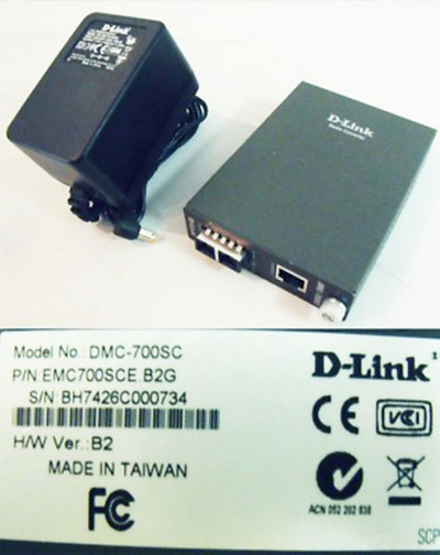 D-Link DMC-700SC Medienkonverter Version: B2 -used-