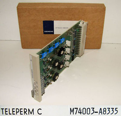 Siemens M74003-A8335 E-Stand: 01 Teleperm C Modul -unused/OVP-