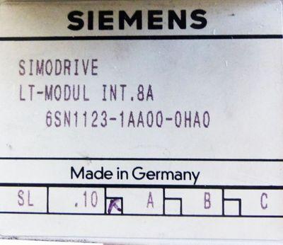 Siemens SIMODRIVE 6SN1123-1AA00-0HA0 6SN1 123-1AA00-0HA0 E-Stand: A -used- – Bild 2