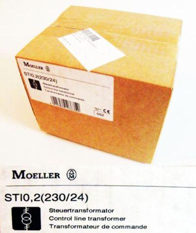 Klöckner Moeller STI0,2 (230/24) Steuertransformator -unused/OVP-