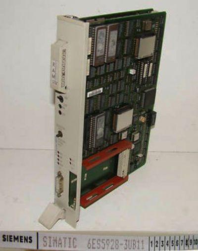 Siemens Simatic S5 6ES5928-3UB11  E-Stand: 08 + 6ES5377-0AA32 -used-