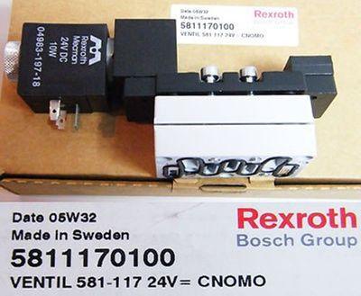 Rexroth Ventil 581-117 24V=CNOMO  5811170100 -unused/OVP-