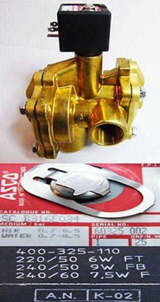 ASCO 2/2 Wege Magnetventil SC B316E034  1 1/4  Zoll -unused-