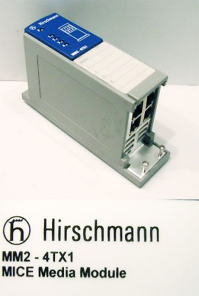 Hirschmann MM2-4TX1 MICE Media Module -used-