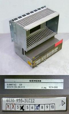 Siemens SIMATIC S5 6ES5 955-3LC12 6ES5955-3LC12 E: 07 + 6ES5 135-3KA13 -used-