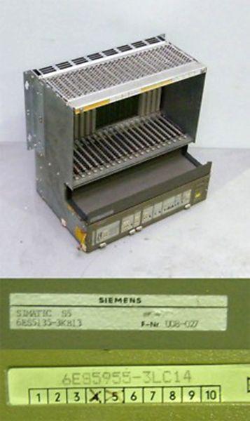 Siemens Simatic S5 6ES5 955-3LC14  6ES5955-3LC14 E:5 + 6ES5 135-3KB13 -used-