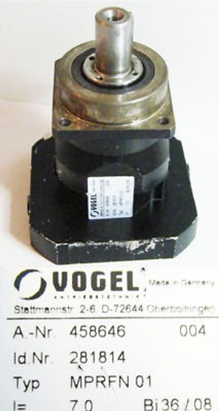 Vogel MPRFN 01 458646004 Getriebe -unused-