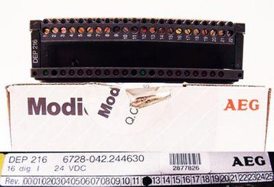 AEG Modicon DEP 216   6728-042.244630 -unused/OVP-