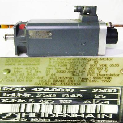 Siemens Servomotor 1FT5064-0AF71-1-Z +Heidenhain Drehgeber  - unused -