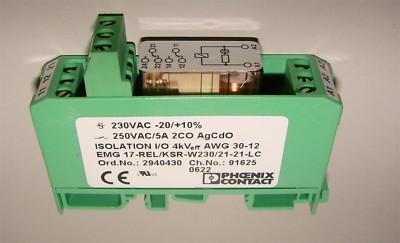 Phoenix Contact EMG 17-REL/KSR-W230/21-21-LC 2940430 -unused-