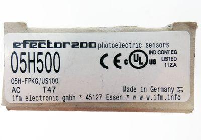 Ifm efector200 O5H500 O5H-FPKG/US100 Reflexlichttaster -unused/OVP- – Bild 3