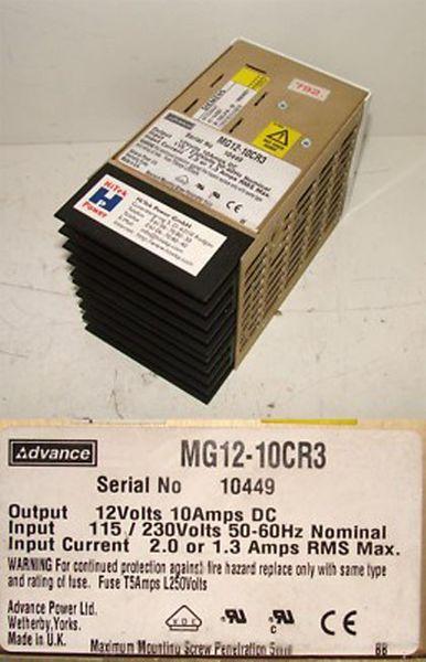 Advance MG12-10CR3 MG1210CR3 -used-