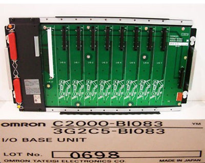 OMRON C2000-BIO83 3G2C5-BIO83 I/O BASE UNIT -unused-