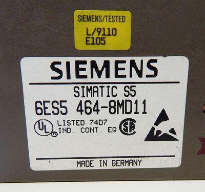 Siemens  Simatic S5  6ES5 464-8MD11 6ES5464-8MD11 E: 02 Analog Input -used- – Bild 3