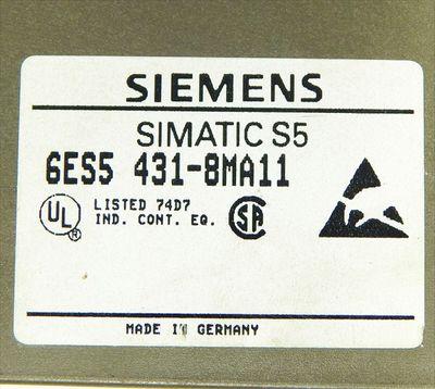 Siemens SIMATIC S5 6ES5 431-8MA11 Digital-Input E-Stand: 01 -used- – Bild 4