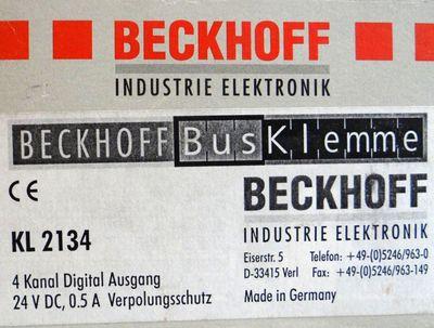 Beckhoff KL2134 KL 2134-0000 4-Kanal Digital Ausgangklemme -unused- – Bild 3