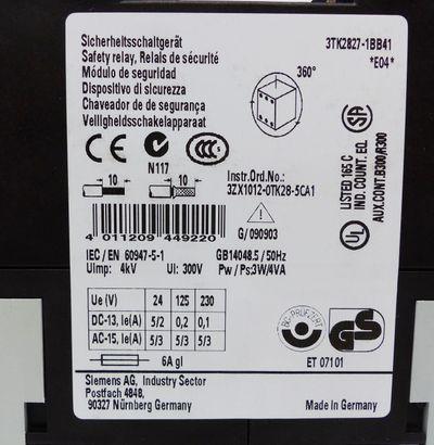 Siemens SIRIUS 3TK2827-1BB41 3RK2 827-1BB41 E-Stand: 04 -unused/OVP- – Bild 2