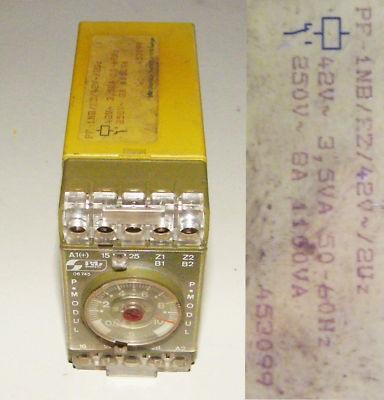 PILZ PF-1NB/FZ 42V  Ident Nr. 453099