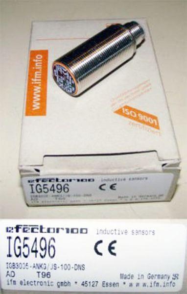 ifm  efector 100  IG5496  IG 5496 -unused/OVP-