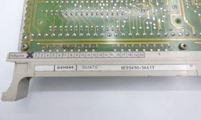 Siemens 6ES5450-3AA11 6ES5450-3AA11 E-Stand: 01 -used- – Bild 2