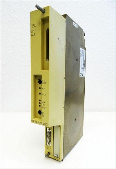 SIEMENS Simatic S5 CPU 945 6ES5945-7UA13  E:02 -used- – Bild 1