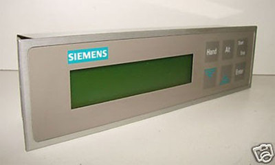 SIEMENS ELREST ASYS/CAN/P50/V1.12/24VDC Bedienteil -used- – Bild 1