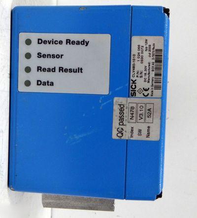 SICK CLV480-1010 Barcodescanner P/N: 1 024 066 -used- – Bild 5