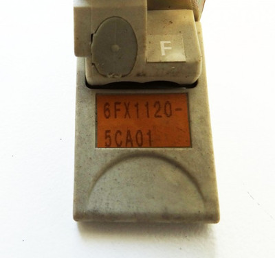 Siemens  6FX1120-5CA01  6FX1 120-5CA01 E: F  - used - – Bild 3