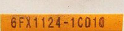 Siemens  6FX1124-1CD10   6FX1 124-1CD10 E-Stand : A -used- – Bild 3