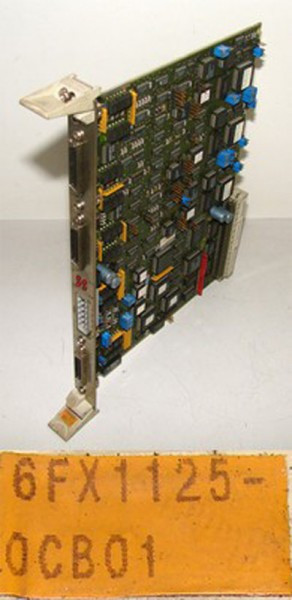 Siemens  6FX1125-0CB01  6FX1 125-0CB01  E: A -used-