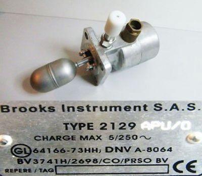 Brooks Instrument Typ 2129/APU/0 Schwimmerschalter -unused/OVP-