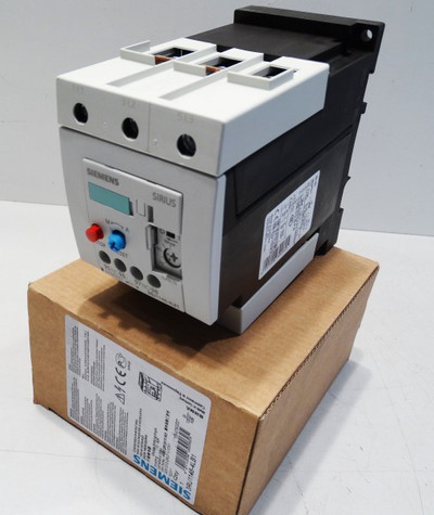 Siemens Sirius 3RU1146-4LB1 E: 01 - unused - in OVP – Bild 1