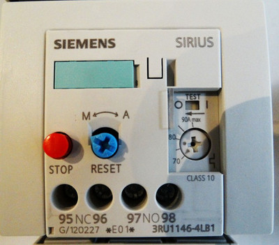 Siemens Sirius 3RU1146-4LB1 E: 01 - unused - in OVP – Bild 3