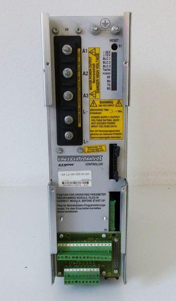 INDRAMAT AC Servo-Controller TDM 1.2-050-300-W1-220 TDM1.2-050-300-W1-220 -used- – Bild 2