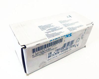 10x Siemens 3RT1926-1ES00-ZX90 Diodenkombination ohne LED -sealed- – Bild 1