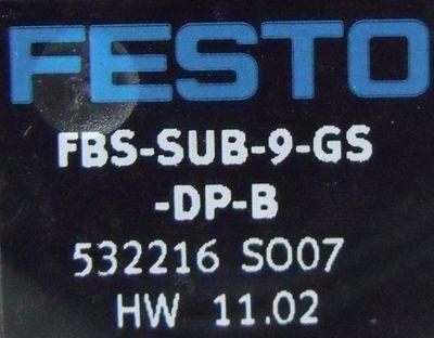 FESTO FBS-SUB-9-GS-DP-B Feldbusanschluß – Bild 2