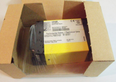 Bender  UG143P  B916384 UG Isometer Earth Fault Relay -unused/OVP- – Bild 1