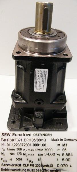 SEW-Eurodrive PSKF 321 EPH05/99/13 Getriebe