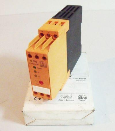Ifm Electronic Schaltverstärker DN0200 DN 0200 100-240V AC/DC -unused/OVP- – Bild 1