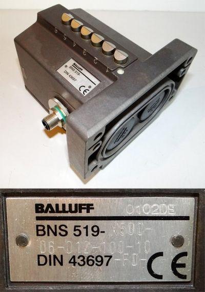 Balluff BNS 519-X500-D6-D12-100-10    BNS519X500D6D1210010 -unused/OVP-
