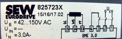 SEW Eurodrive BME 3 825723X – Bild 2