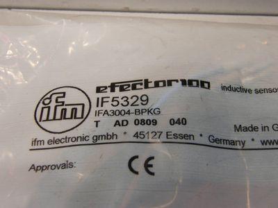 IFM Electronic Efector100 IF5329 IFA3004-BPKG Induktiver Sensor -sealed- – Bild 2