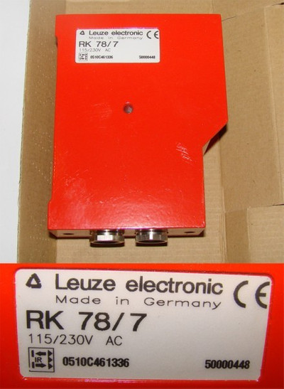 Leuze Electronic RK 78/7  RK78/7 Lichtschranke -unused/OVP-