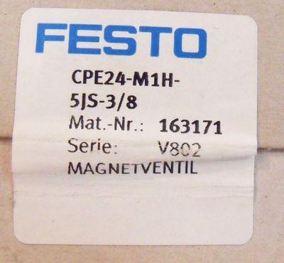 FESTO CPE24-M1H-5JS-3/8 Nr. 163171 – Bild 2
