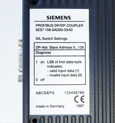 Siemens 6ES7 158-0AD00-0XA0 6ES7158-0AD00-0XA0 Profibus DP/DP-Coupler -used- – Bild 4